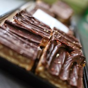 chocolate with nuts squares from Punch Bowl Market & Bakery