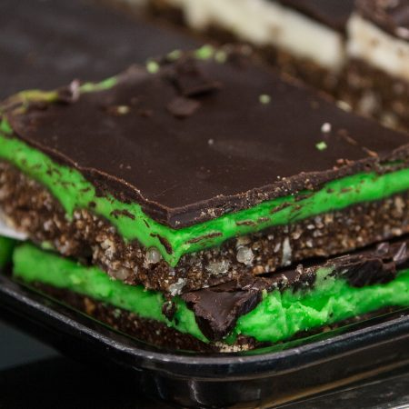 Punch Bowl Market and Bakery Stoney Creek-Bakery- Squares-Mint Nanaimo Bars